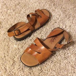 Jessica Leather Craft Sandals